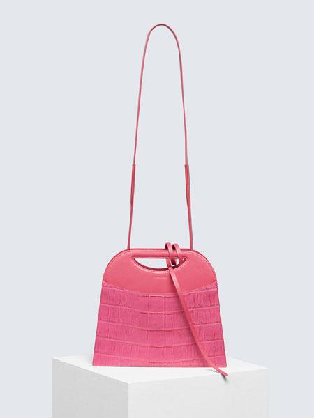 CHAMELEES国际品牌品牌2020春夏新款纯色挎包 小款