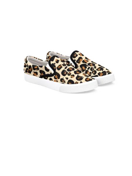 BUCKETFEET国际品牌品牌2020春夏新款豹纹滑板鞋