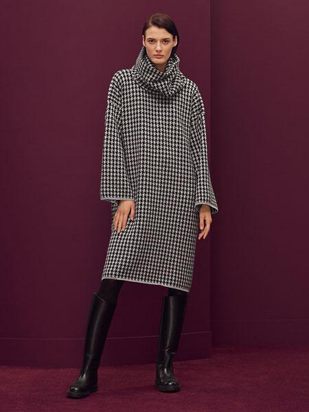 Hermes爱马仕国际品牌2019秋冬格子连衣裙