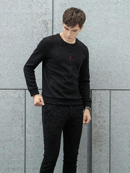 皇家安东尼男装品牌2019秋冬新款针织毛衣