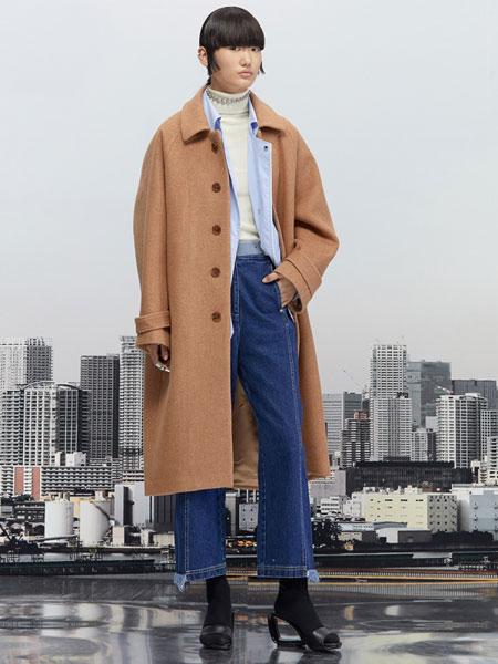 Even Vintage国际品牌品牌2019秋冬高级廓形进口澳毛双面呢茧型大衣