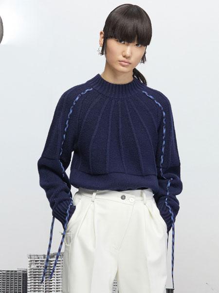 Even Vintage国际品牌品牌2019秋冬巴素兰处理羊毛两袖抽绳百搭毛衣