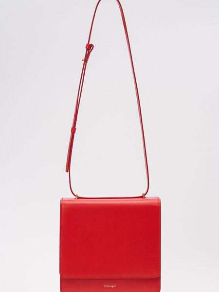 ELBATEGEV国际品牌品牌2020春夏红色领土袋