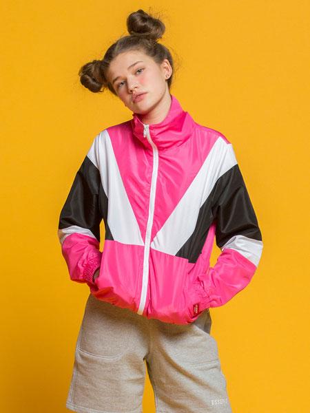 ESSENSI STUDIO国际品牌2020春夏新款拼接色外套