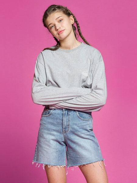 ESSENSI STUDIO国际品牌2020春夏新款印字长袖上衣