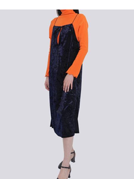 HALOMINIUM国际品牌品牌2020春夏新款吊带裙子
