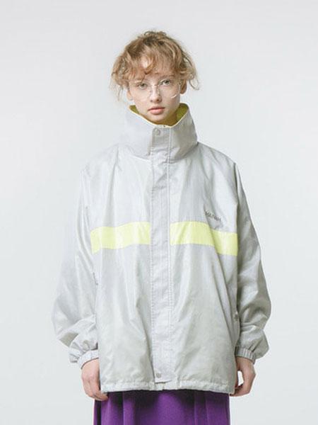 HANAH国际品牌品牌2020春夏新款长袖印字外套