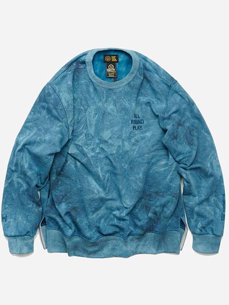 FRIZMWORKS国际品牌品牌2019秋冬扎染运动衫