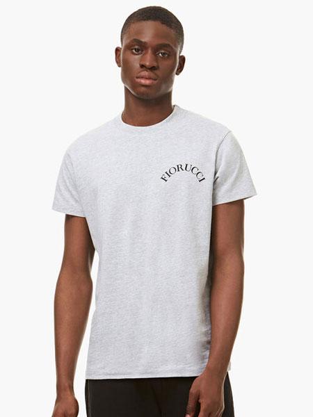 FIORUCCI国际品牌品牌2020春夏新款经典印字短袖上衣
