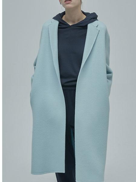 GREYYANG国际品牌品牌2019秋冬新款纯色毛呢大衣