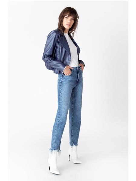 J Brand国际品牌品牌浅蓝牛仔裤
