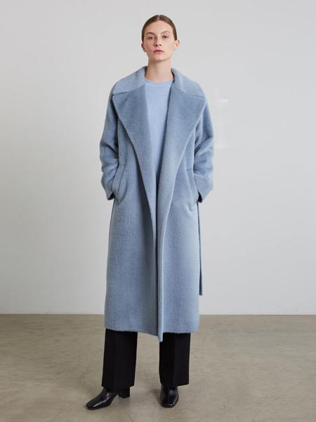 JENNY PARK国际品牌品牌宽松知性毛呢大衣