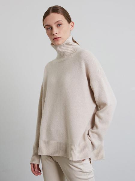 JENNY PARK国际品牌品牌修身高领毛衣