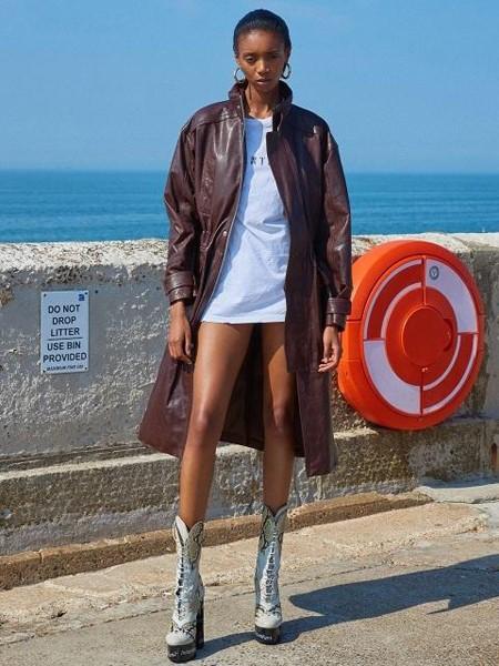 INSTANTFUNK国际品牌品牌时尚皮夹克
