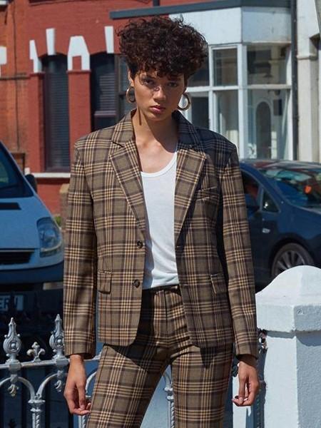 INSTANTFUNK国际品牌时尚西装套装