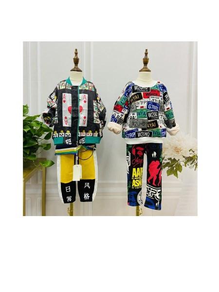 广州品牌童装折扣批发童装如何搭配??