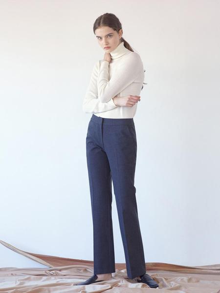 KLEAN国际品牌品牌2020春夏经典修身基本款低腰女士西裤_深灰色
