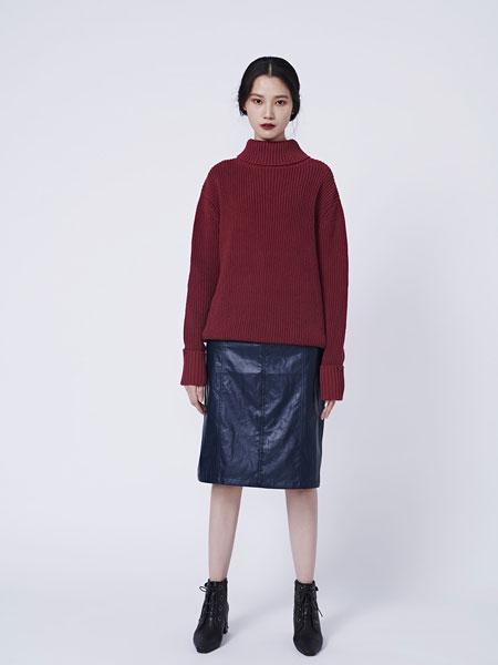 HALFME国际品牌品牌2020春夏霧光率性仿皮裙
