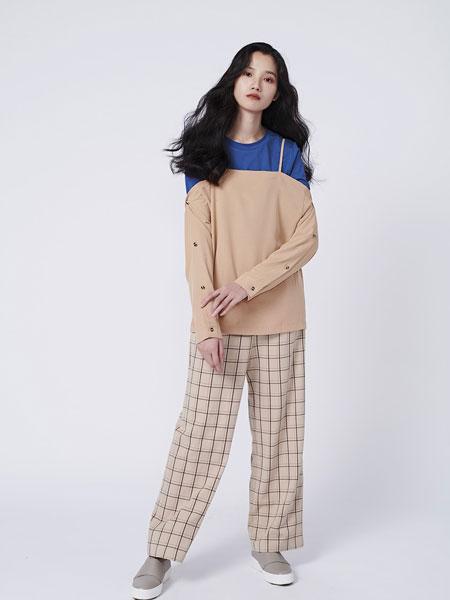 HALFME国际品牌品牌2020春夏可调节肩帶一子领造型上衣