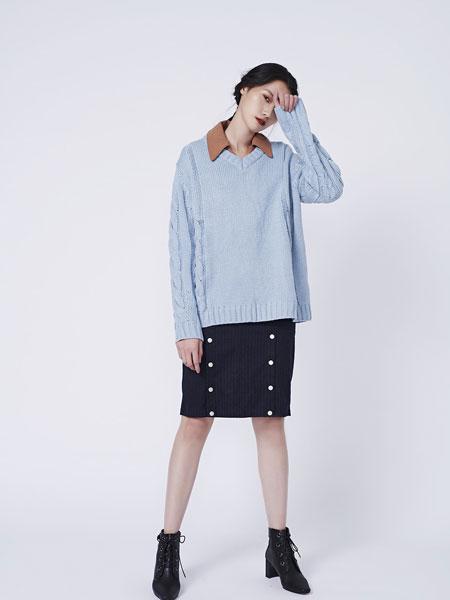 HALFME国际品牌品牌2020春夏立体麻花毛衣