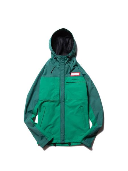 HAVE A GOOD TIME国际品牌品牌2019秋冬新款经典小标运动外套