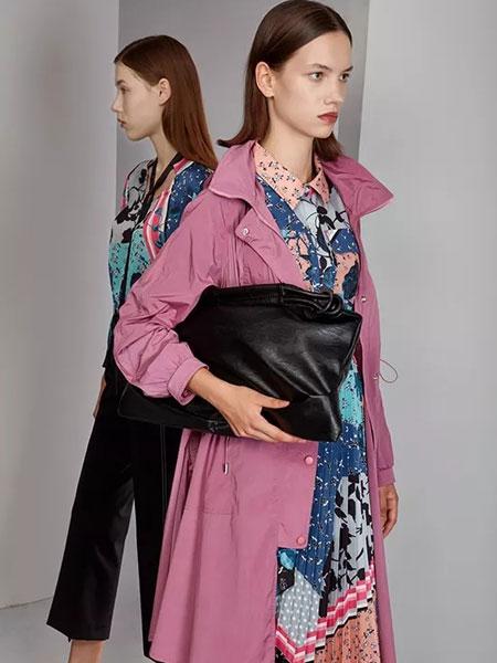芊之美女装品牌2020春夏新款拉链大衣 百搭显气质