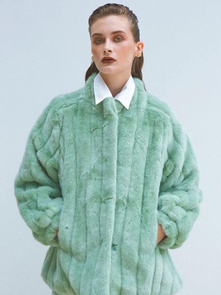 LOEIL国际品牌品牌2019秋冬SUZANI生态貂皮夹克