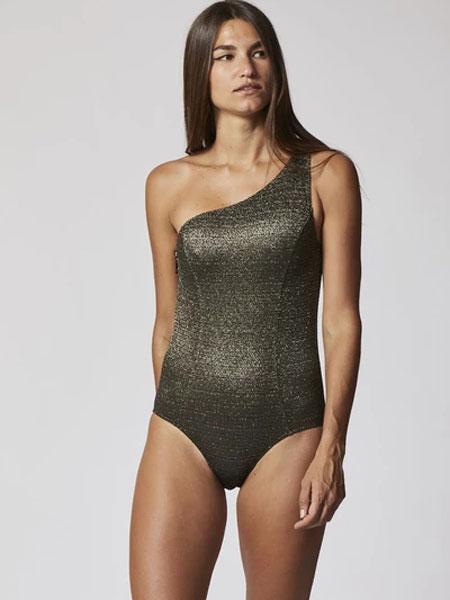 Lisa Marie Fernandez国际品牌2020春夏雅顿金色/黑色卢勒斯・马洛特