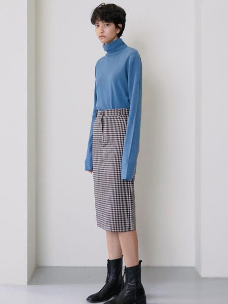 MAISON MARAIS国际品牌品牌2019秋冬一键式格子裙