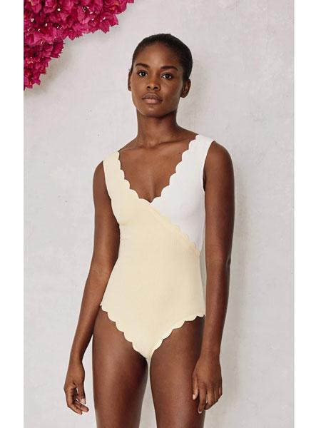 MARYSIA SWIM国际品牌2020春夏新款纯色泳装性感
