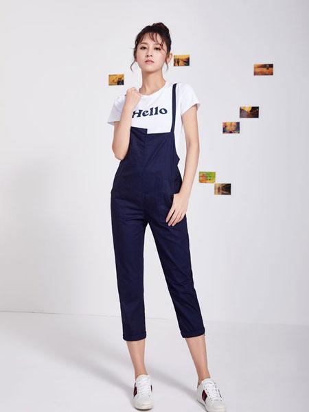 淑女日记女装品牌2020春夏新款吊带连体裤