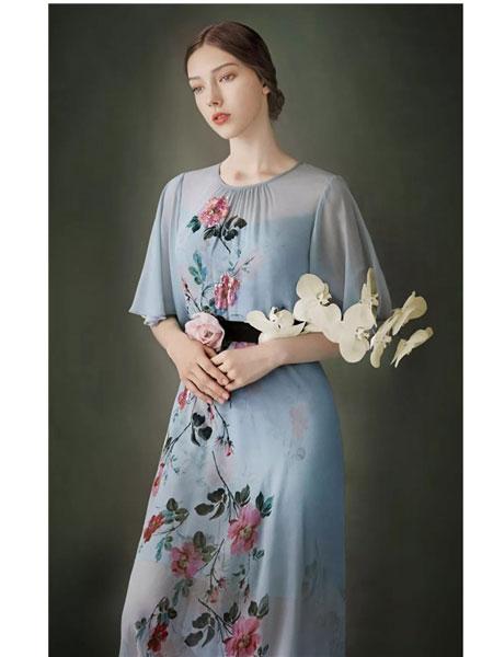 欧柏兰奴女装品牌2020春夏新款繁花记系列尽显东方之美