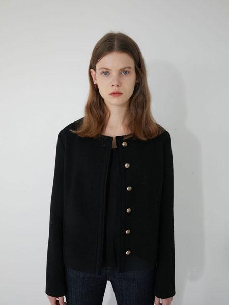 MARRON EDITION国际品牌2019秋冬BLACK圆领夹克