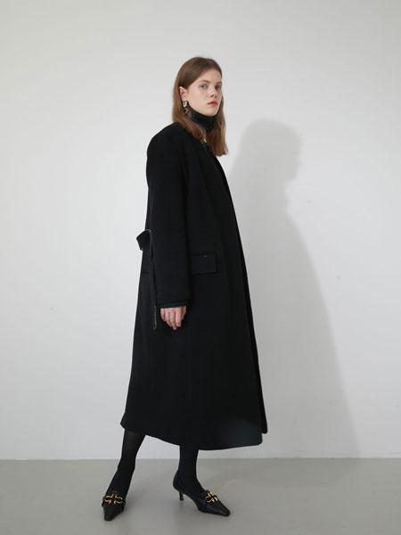 MARRON EDITION���H品牌品牌2019秋冬BLACK�o�I大衣