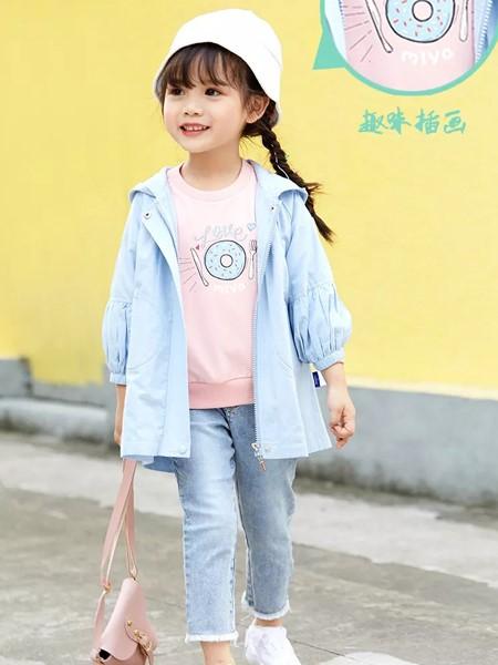 玛玛米雅童装品牌2020春夏休闲夹克衫
