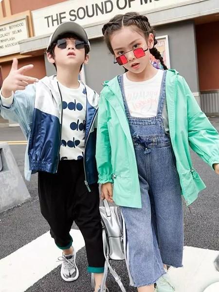 玛玛米雅童装品牌2020春夏休闲棒球服