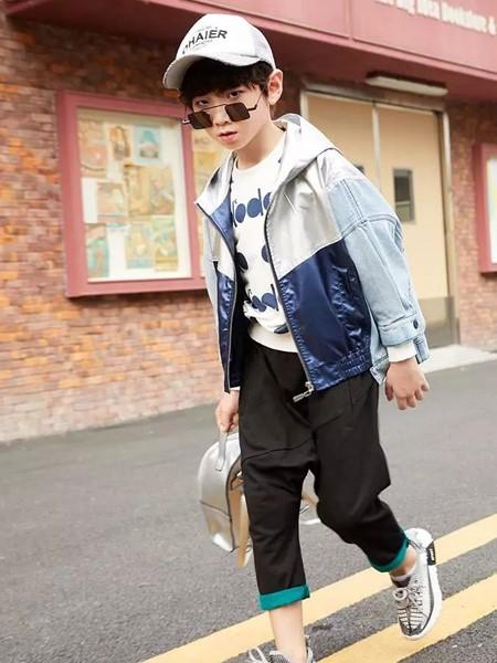 玛玛米雅童装品牌2020春夏时尚夹克衫