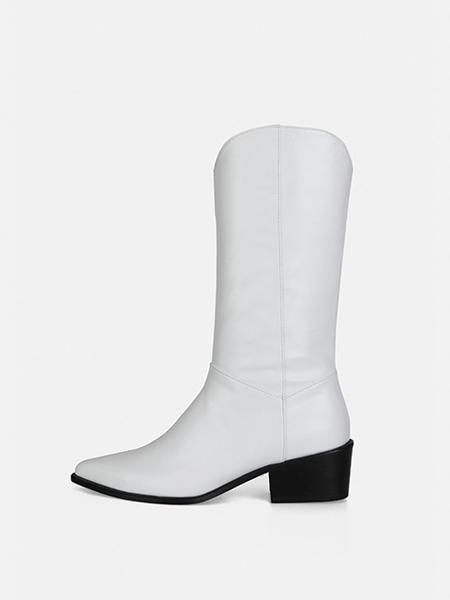 MENODEMOSSO国际品牌品牌长靴长筒靴粗跟