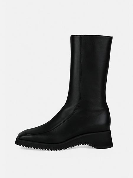 MENODEMOSSO国际品牌品牌显瘦黑色短靴