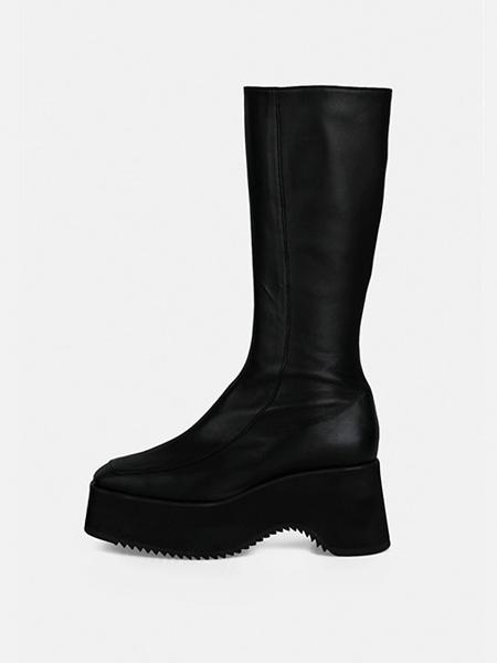 MENODEMOSSO国际品牌品牌粗跟松糕靴子