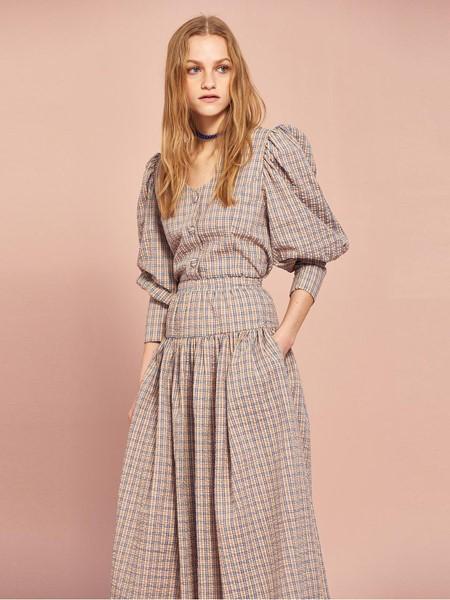 MIDNIGHT CIRCUS国际品牌品牌纯棉宽松半身裙
