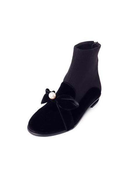 MISSUE国际品牌品牌2020春夏时尚平底靴子