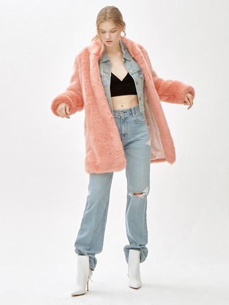 MOLLIOLLI国际品牌时尚长款外套