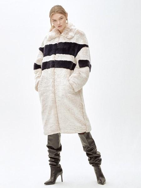MOLLIOLLI国际品牌宽松羊羔毛外套