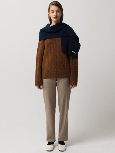 MOONDAL国际品牌品牌粗毛线毛衣