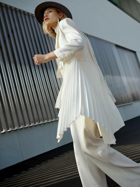 IDPAN女装品牌2020春夏时尚知性西装