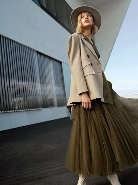 IDPAN女装品牌2020春夏气质半身裙