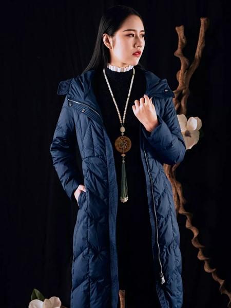 香西旗袍女装品牌2019秋冬时尚保暖棉服