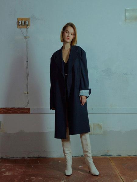 MUDIDI国际品牌品牌2019秋冬Manish长外套005海军