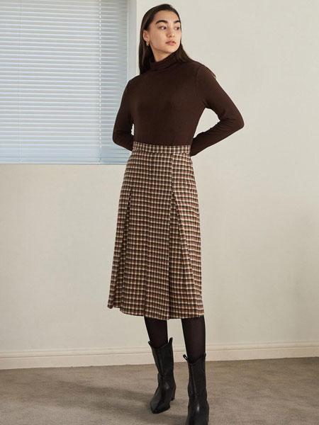 URAGO国际品牌品牌2019秋冬加大版背面褶边装饰女士长袖衬衫